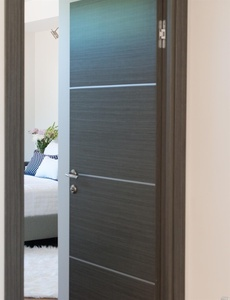 Interior Door Milano-1M1 Grey Oak. Photo