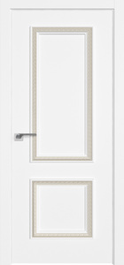 door Milano-62SMK White Silk